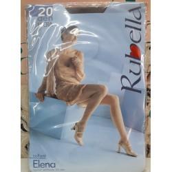 Elena Rubella Collant 20 den Colore Nero Taglia 4 Woman