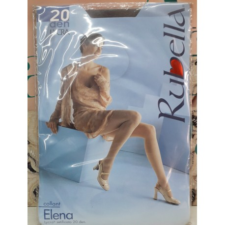 Elena Rubella Collant 20 den Colore Chiaro Taglia 3 Woman