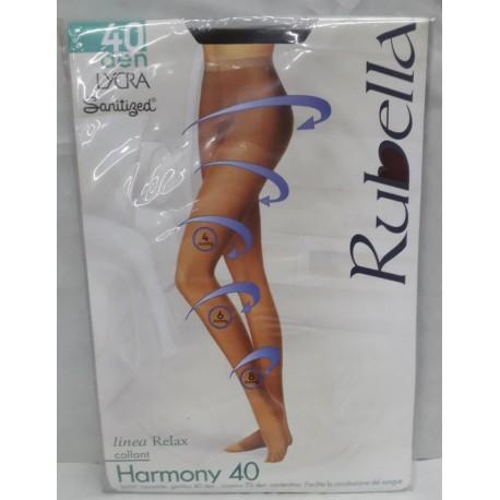 Collant Harmony 40 den. Linea Relax Col. Glacè Tag. 2