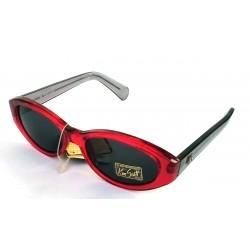Occhiali da sole donna KEN SCOTT -81262- rossi UV400 Protections Made in Italy