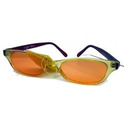 Occhiali da sole donna 7300-2 Naj-Oleari stile giovane, vivace, fresco, minimalismo anni '80