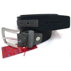 Cintura Uomo YY Coveri in camoscio/pelle Blu Navy 120 cm yy2097/40