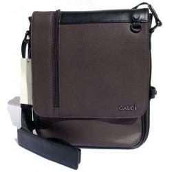 Borsa Borsello Uomo Gaudì Brown e inserti Black ideale per Tablet V6AI-68805