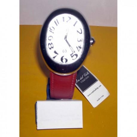 Orologio da polso Ira del Valle con datario- 3 ATM Water Resistant Quartz - TESTA DI MORO - Nuovo