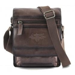 Borsello Uomo Cross body bag small with flap Wildfire Brown con patta WLD-21967-BW