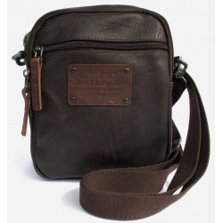 Borsa Borsello Uomo AVIREX Cross body small bag Buffalo Brown BFL-1643-05A-BW
