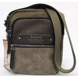 Borsa Borsello Uomo AVIREX Cross body bag small Ventura Brown VNT-1647-02A-BWBG