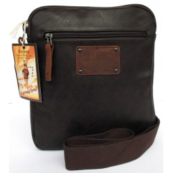 Borsa Borsello Uomo AVIREX Cross body bag slim Buffalo Brown BFL-1643-07A-BW