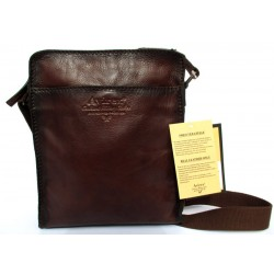 Borsa Borsello Uomo AVIREX Cross body bag medium Wildfire Brown WLD-21968-BW