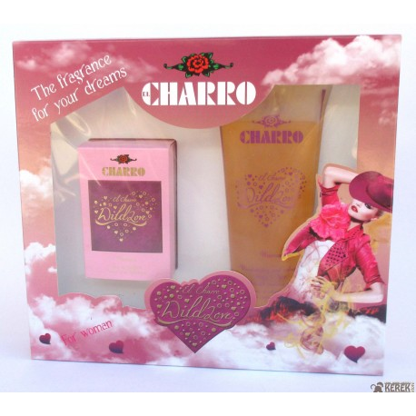 El Charro WildLove for your dreams 50ml EDP for woman + Shower mousse gel body-hair