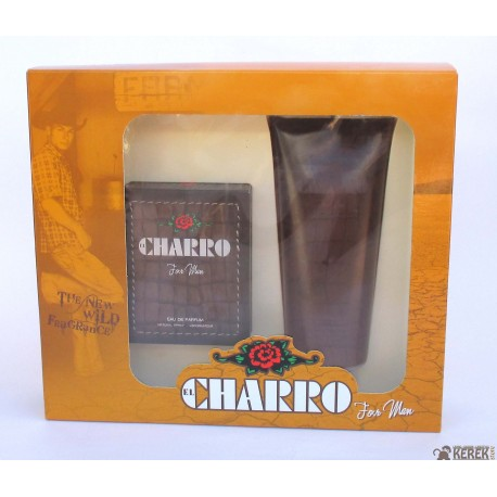 "El Charro for Man ""The New Wild"" 50ml EDP + Stimulating Energy Body & Hair Shower Gel 400ml"
