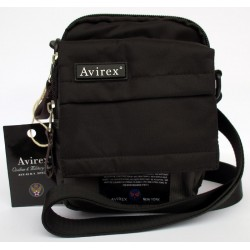 Borsa Borsello Uomo AVIREX Cross body bag small Fly Dark Grey FLY-DKGY-5008-27