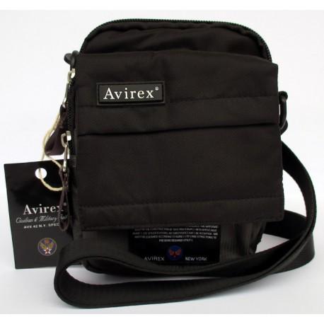 Borsa Borsello Uomo AVIREX Cross body bag small Fly Dark Grey FLY-DKGY-5008-27