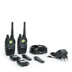Midland G7XTR Blister Walkie-Talkie, Nero 8011869174544 - Dual Band, Dual Watch, Vibracall