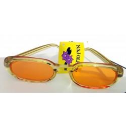 Occhiali da sole donna 7302-3 Naj-Oleari stile giovane, vivace, fresco, minimalismo anni '80