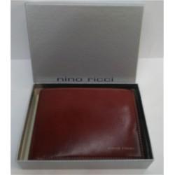 Portadocumenti Nino Ricci uomo in pelle Marrone / carte di credito