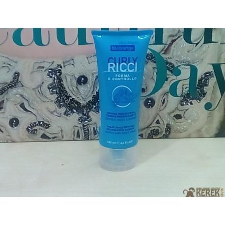 Curly Ricci Blu Orange Crema protettiva Capelli ricci e mossi 125 ml OVP