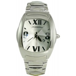 Chronotech Men's CT.2039J/03M Prisma Bracelet Watch data silver