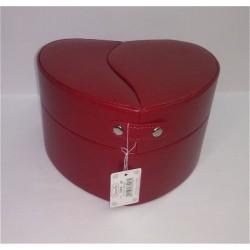 J. Cuore Grande Camomilla Portagioie Colore Rosso