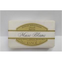 Sapone Rancé Delicato Addolcente- Muschio Bianco 150 gr Musc Blanc