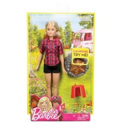 Barbie campeggio mattel