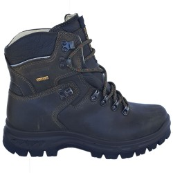 Grisport Scarpone Trekking Ciaccia Sport Nero/Oliva 13819D29T, scarpa in pelle impermeabili