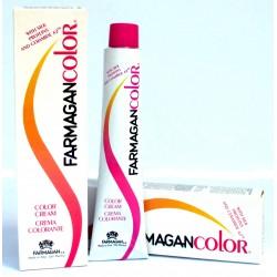 Crema Colorante capelli Farmagan BiondoRosso Tropici, Mogano, Rame Oro 100ml a lunga durata con seta e ceramide