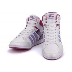 Scarpa Sportiva Adidas, 37 1⁄3, Vineo hoops mid K Q26402 Sneakers Polacco Donna