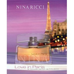 Love in Paris Nina Ricci for women 50ml Eau de Parfum EDP OVP NUOVO