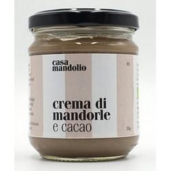 Kakao Bio Mandelcreme 190 gr - Sizilianische Gourmet Spezialitäten