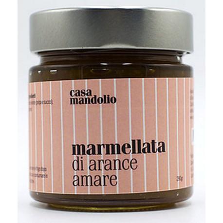 Marmellata di Arance Amare 280 gr - Specialità Gourmet Siciliana
