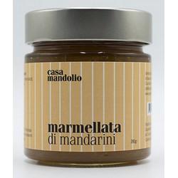 Marmalade of Mandarins 280 gr - Sicilian Gourmet Specialties