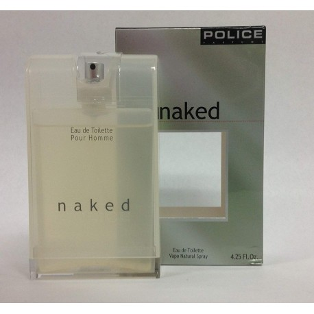 Police Naked Skin Booster for men Eau de Toilette 125 mL (4.25 oz) - OVP