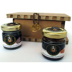 Drops Black summer truffle + Sicilian almond honey White Truffle - Tree of life gift box
