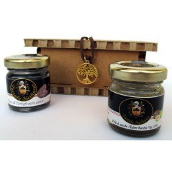 Drops Black summer truffle + Figs with Tuber Borchii - Tree of life gift box
