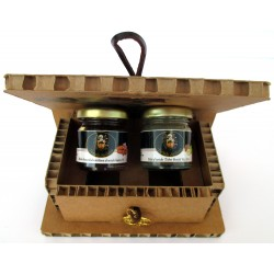 Sicilian Almond Honey White Truffle + Truffle Figs - Tree of Life Gift Box