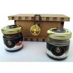 Miele di Mandorla Siciliana Tartufo Bianco + Fichi al Tartufo - Confezione Regalo albero della vita
