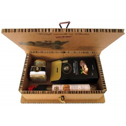 Mousse + Almonds + Oil EVO Bio Black and white truffle - Tree of Life Gift Box Sicily