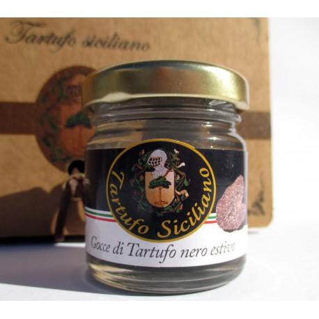 Gocce di Tartufo Nero Estivo (Tuber aestivum Vitt.), 30g - il caviale nero Siciliano