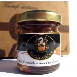 Miele di Mandorla Siciliana al Tartufo Bianco (Tuber Borchii Vitt. 3%) - 35gr
