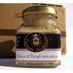Mousse dolce di Tartufo Nero Estivo 30% con mandorle - 80 gr (2,82 Oz)
