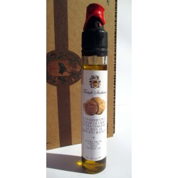 Sicilian White Truffle Oil, extra virgin olive oil 80gr + 1g seasoning for gourmet recipes