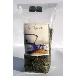 100 GR | Busta di foglie di tè verde cinese GUNPOWDER Shangai dal gusto leggero rilassante
