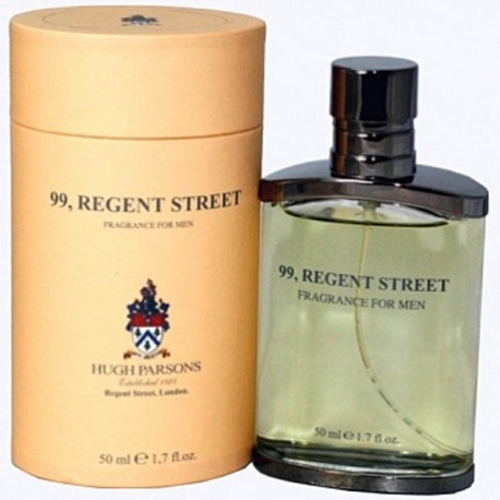 99, REGENT STREET for men Hugh Parsons London 50ml - RARE - OVP