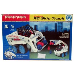 Rokenbok System Wireless RC Skip Track 03205 extra long arms front-end precision loading vehicle