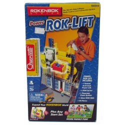 Rokenbok System Power Rok-Lift - Expand your Word - Plus Any Set 110 pieces (04314)