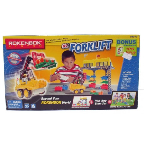 Rokenbok System RC Forklift Radio Control Expand your word 105 pieces