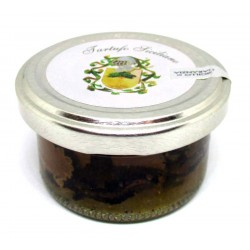 Sicilian Summer Black Truffle Carpaccio - 25g (e), in brine with natural Bio Gourmet (Tuber aestivum Vitt)
