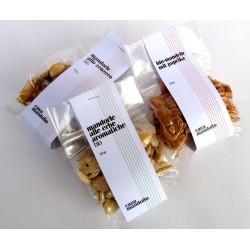 Mandorle biologiche tostate allo Zenzero, erbe aromatiche e paprika 100g x 3