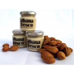 Albana Fresco: 3x105gr crema di mandorle Sicilia da spalmare, biologico e 100% vegano